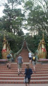 Escalier de plus de 300 marches