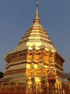 le chedi du Wat Phrathat Doi Suthep