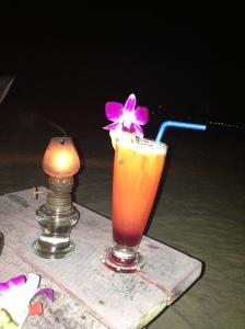 cocktail à l'indian bar